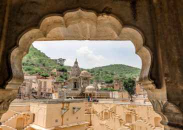 The historic Panna Meena ka Kund in Jaipur