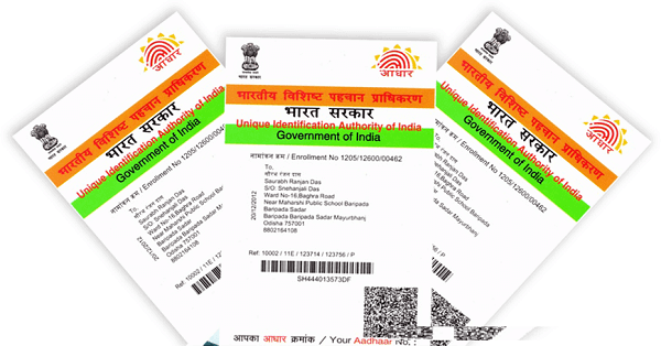 New-Aadhar-Card-Apply Here's How you can Get a Duplicate Copy of Aadhaar Card Online