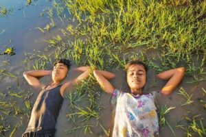 A still from Village Rockstars