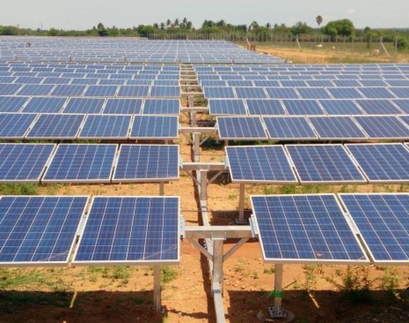 Renewable energy installations in India exceeded those by coal power plants for the first time in 2017