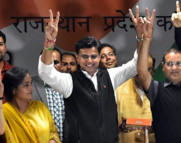 State Party Chief Sachin Pilot to chair the State Election Committee