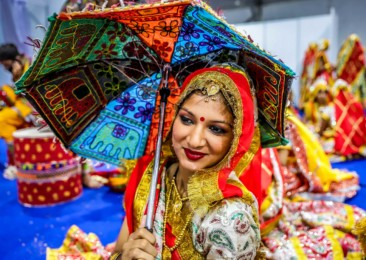 Navratri marks the arrival of festive season in India