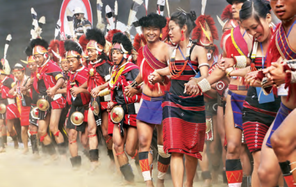 Lifestyle and celebrations in north-east India are culturally rich and diverse, yet not widely known