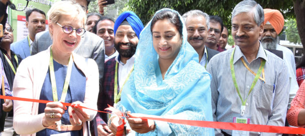 SIAL was inaugurated by Union Minister of food processing, Harsimrat Kaur Badal