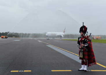 Emirates direct flights from Dubai to Edinburgh