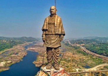 Statue of Unity built on ironies and paradoxes