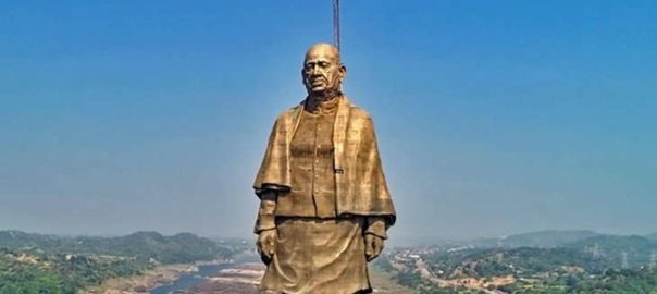 The Statue of Unity is the world's tallest statue built in honour Sardar Vallabhbhai Patel