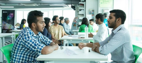 A shot from Human Library - Hyderabad Chapter