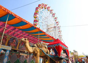 Vibrant colours of the Pushkar Fair