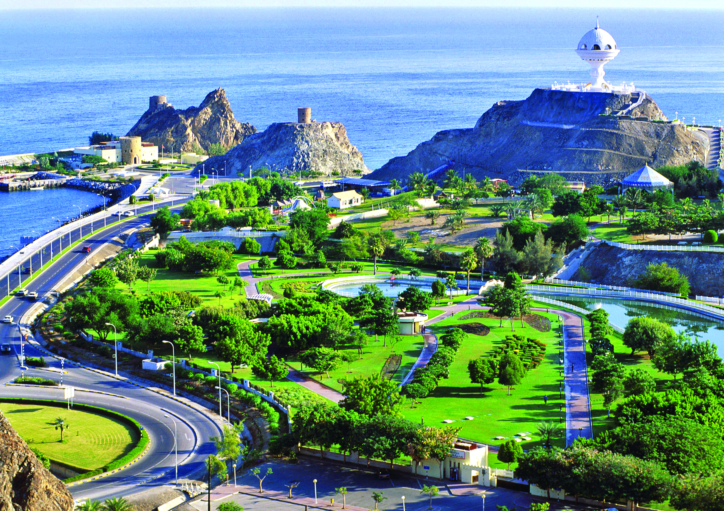 Muscat, the capital city of Oman