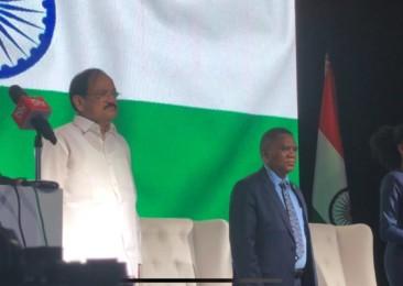 Venkaiah Naidu opens Global Expo Botswana 2018