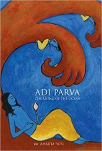 "Cover art for Amruta Puri's ""Adi Parva"""