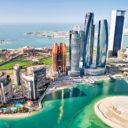 The grandiose Abu Dhabi skyline