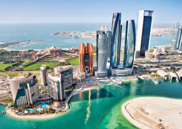 The eye popping sights of Abu Dhabi