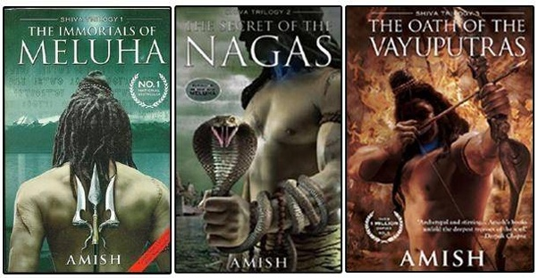 "Cover art for Amish Tripathi's ""Shiva"" trilogy"