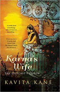 """Cover art for Kavita Kane's """"Karna's Wife"""""""