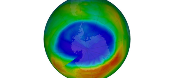 A UN report says that after decades of thinning, earth's ozone layer is slowing recovering