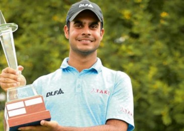 Indian golfer wins Rookie of the Year award on European Tour