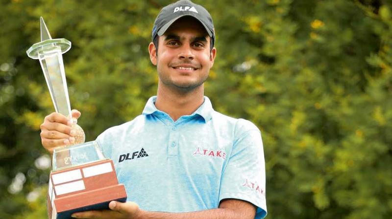 Shubhankar Sharma, the only Indian to win the Rookie of the Year award on a European Tour