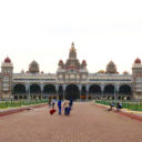 The Mysore Palace, official residence of the Wodeyar dynasty and the seat of the erstwhile Mysore Kingdom