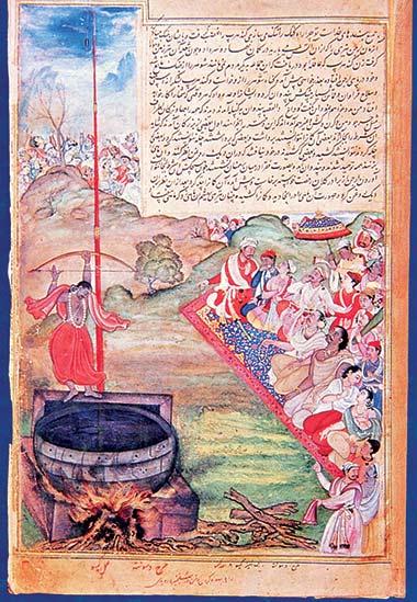 Le Mahabharata : Arjun atteint sa cible