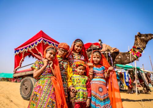 The international camel festival in Bikaner