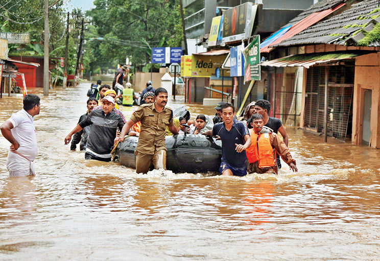 Over two-and-a-half months of incessant rains led to floods in Kerala in August 2018