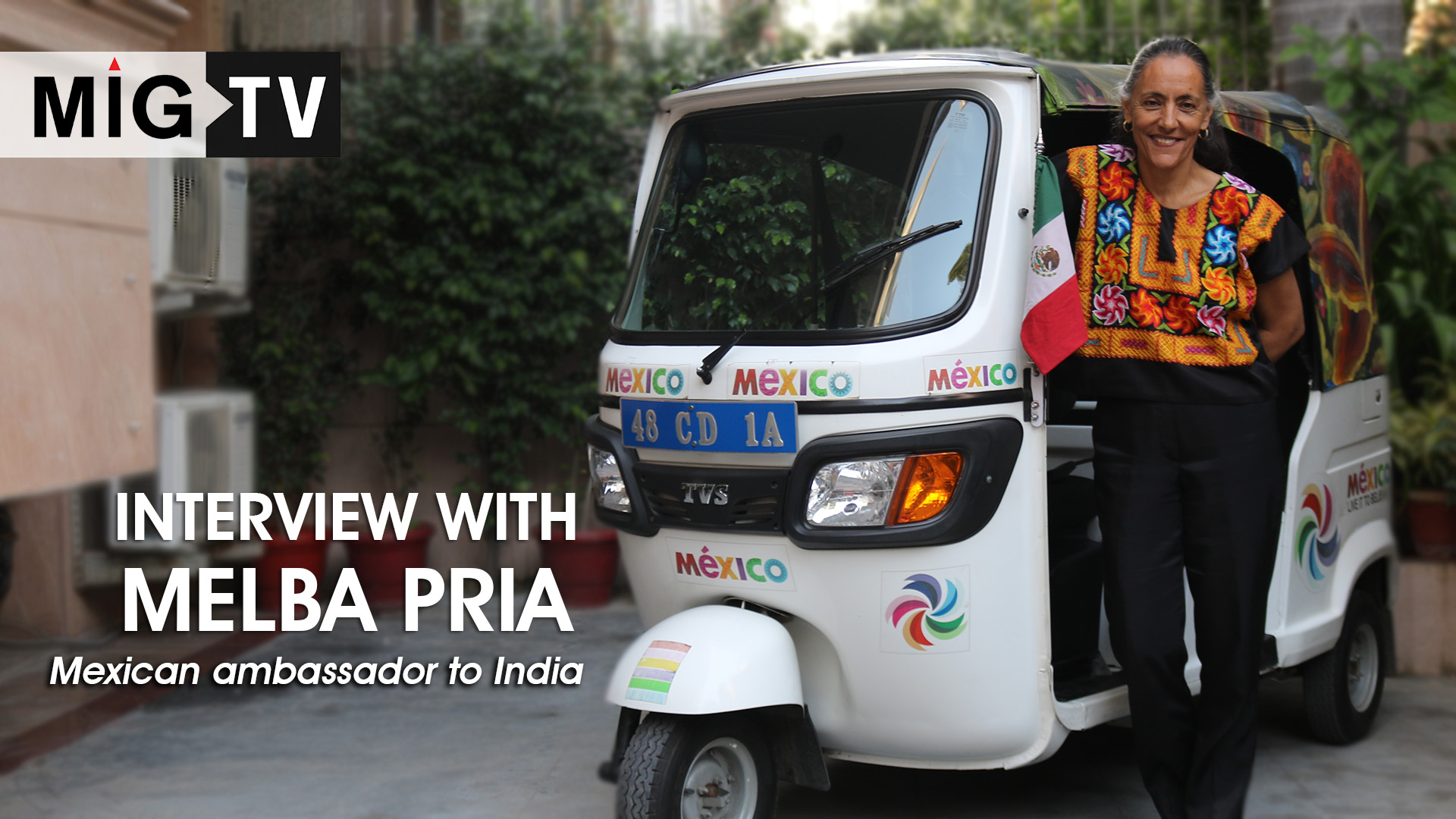 Interview with Melba Pria   Mexican ambassador to India