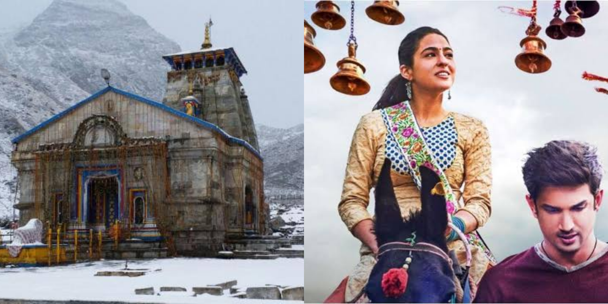 The story of Kedarnath which has been made into a 2018 film 'Kedarnath'