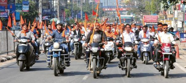 Saffron outfits are holding smaller congregations across the country.