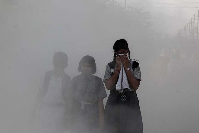Air pollution alone kills seven million people in the world every year and costs welfare losses worth USD 5.11 trillion