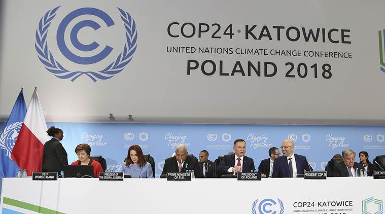 India has said at the COP24 smmit that developed countries are not spending enough to mitigate the climate change