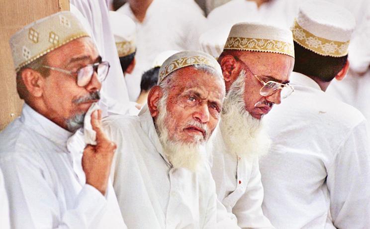 Membres de la communauté des dawoodi bohras