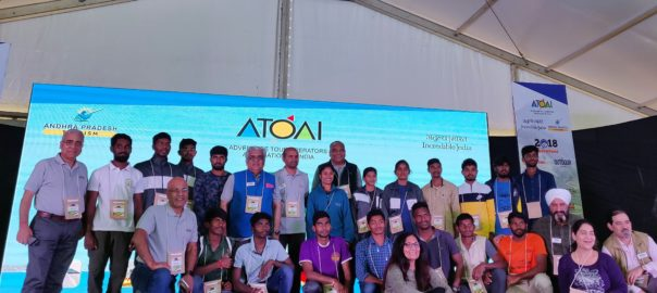 Delegates at the 14th ATOAI Convention with the twenty Everest Summiteers from Andhra Pradesh.