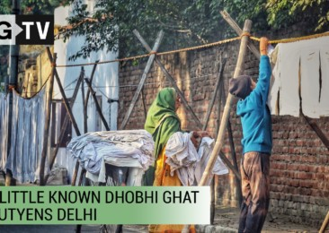 The little known Dhobi Ghat of Lutyens Delhi