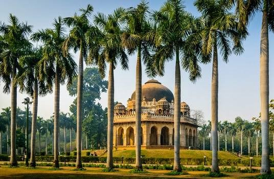 Situated in New Delhi, Lodhi Garden attracts thousands of visitors daily