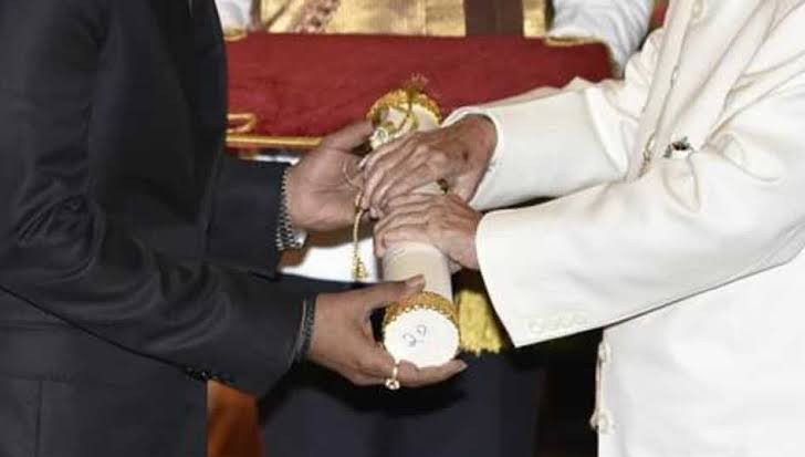 Padma Shri is the fourth largest civilian award of the country