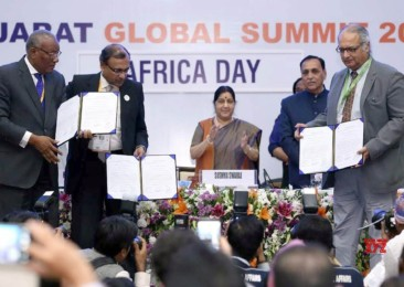 Vibrant Gujarat celebrates Africa Day