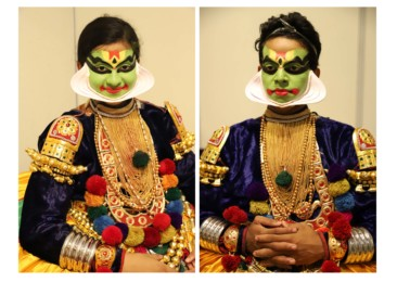 The backstage of Kathakali: Turning serene faces eternally beautiful