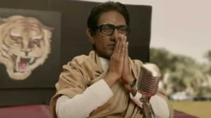 The poster of Thackeray featuring Nawazuddin Siddiqui