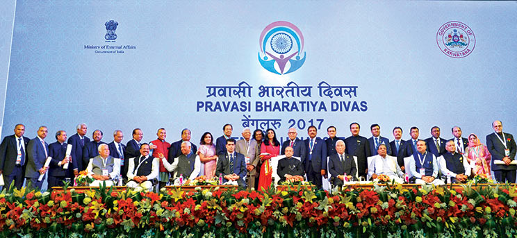 Pravasi Bharatiya Divas 2017 was held in Bengaluru