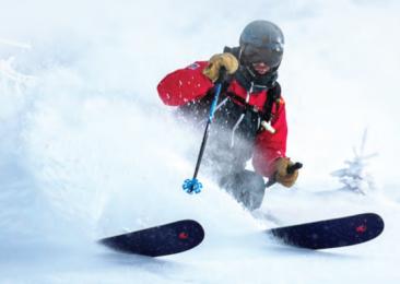 Esquiar en la India