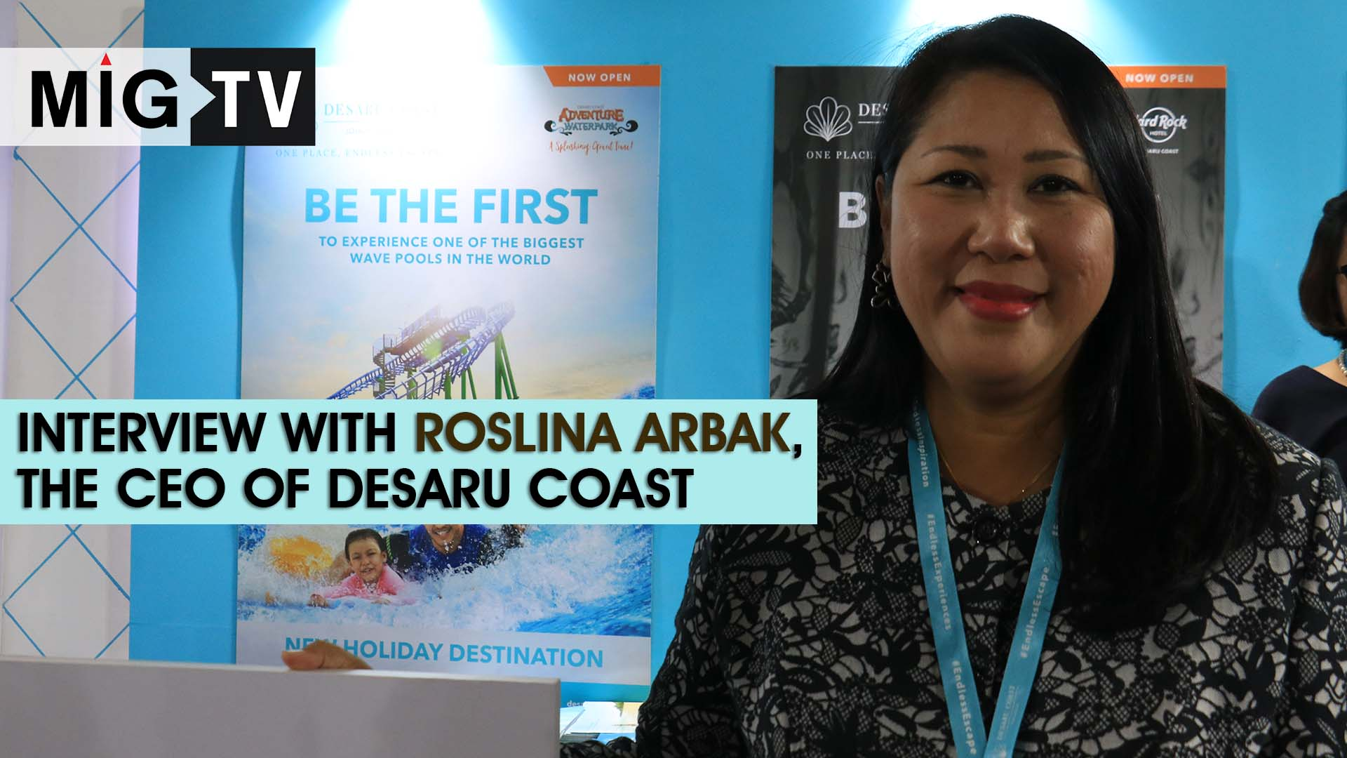 Interview with Roslina Arbak, the CEO of Desaru Coast