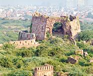 Troisième ville : Tughlaqabad