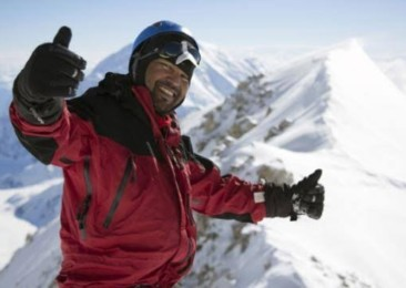 The accidental mountaineer