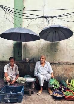 Scène de vie delhiite par The Delhi Walla