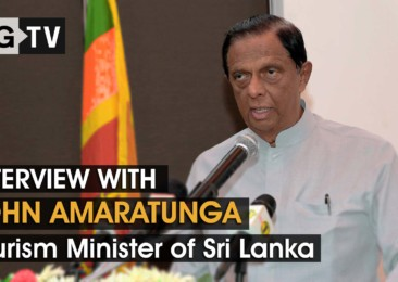 Interview with John Amaratunga, the Tourism Minister of Sri Lanka