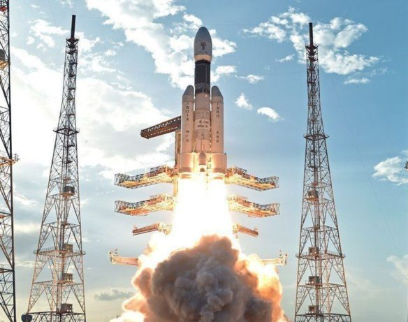 India plans to break into the exclusive club of countries that have put humans into the space in 2022 by launching its first manned flight, which will send three astronauts in a low earth orbit for a week.  (Picture Courtesy: Scroll.in)