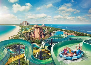 Unique theme parks in Middle East