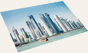 Postcard Qatar